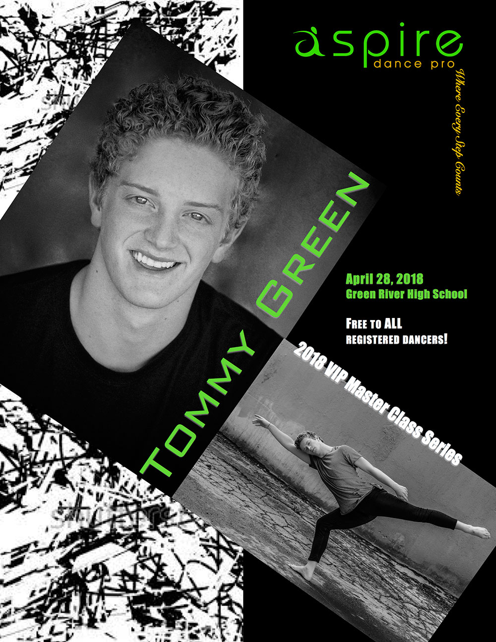 Tommy Green - Aspire Dance Pro Competitions Masterclass Instructor