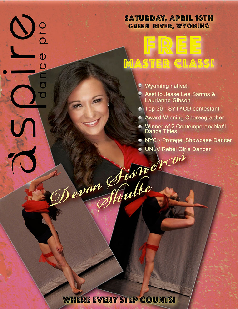 Devon Sisneros Schulte - Aspire Dance Pro Competitions Masterclass Instructor