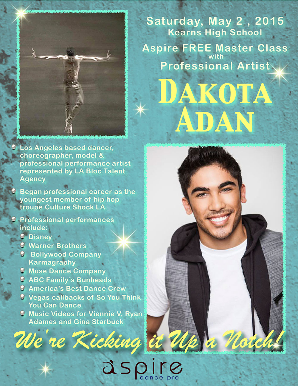 Dakota Adan - Aspire Dance Pro Competitions Masterclass Instructor