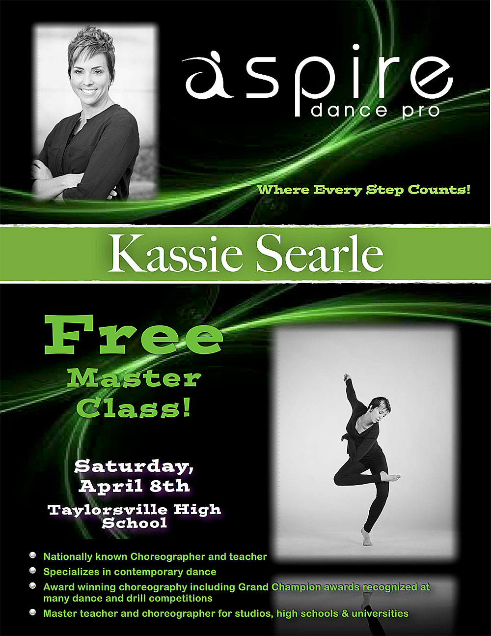 Kassie Searle - Aspire Dance Pro Competitions Master Class Instructor