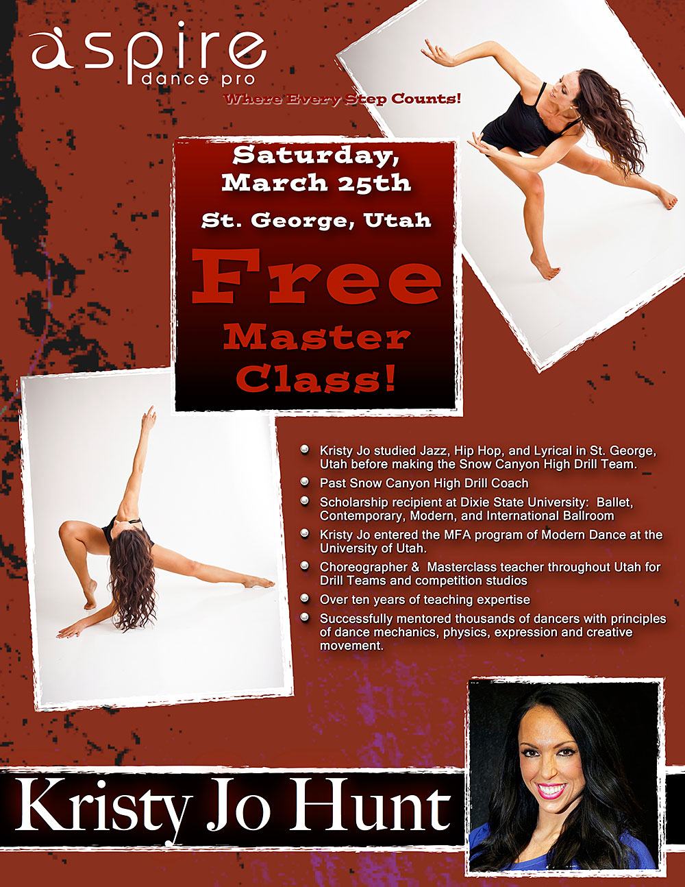 Kristy Jo Hunt - Aspire Dance Pro Competitions Master Class Instructor