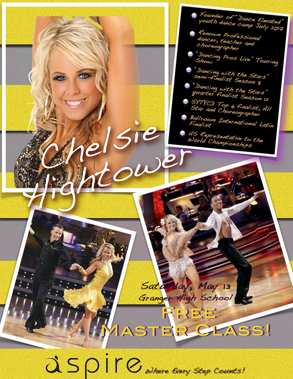 Chelsie Hightower - Aspire Dance Pro Commpetitions Masterclass Instructor