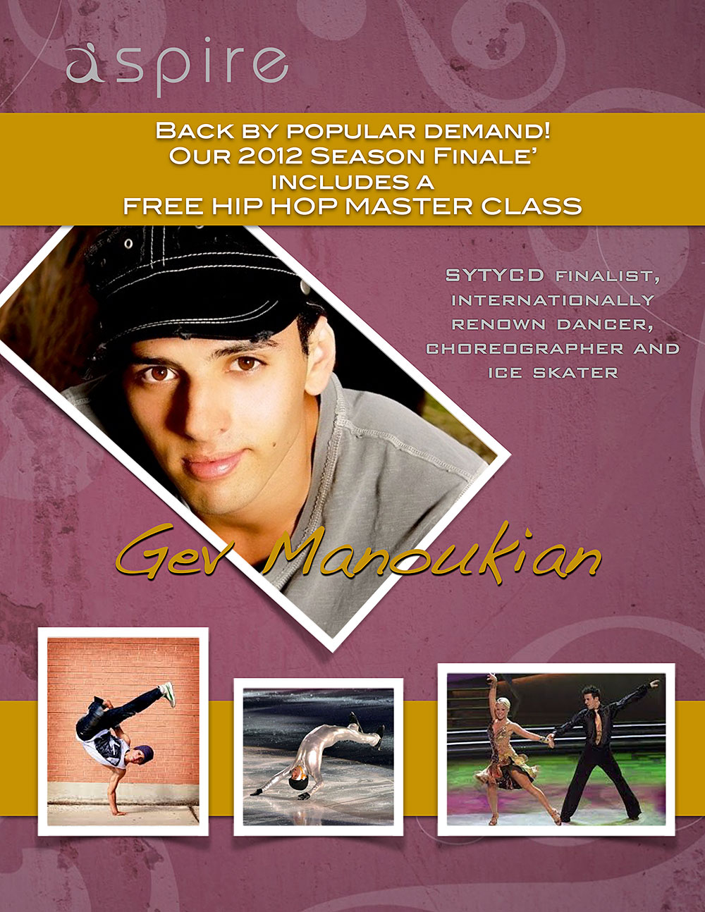 Gev Manoukian - Aspire Dance Pro Competitions Masterclass Instructor