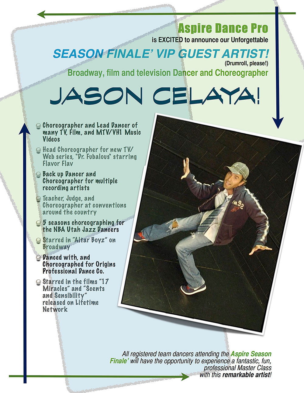 Jason Celaya - Aspire Dance Pro Competitions Masterclass Instructor