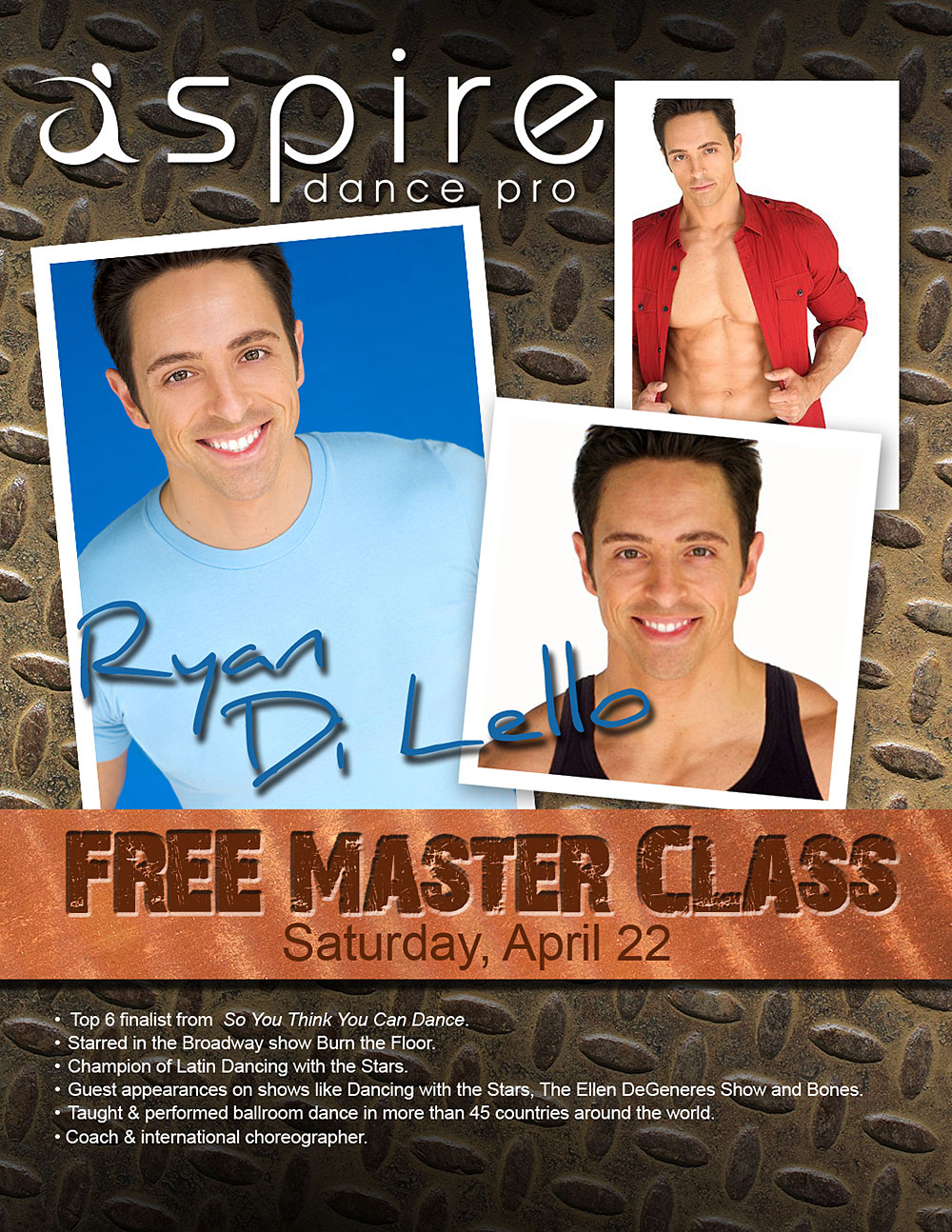 Ryan Di Lello - Aspire Dance Pro Competitions Masterclass Instructor