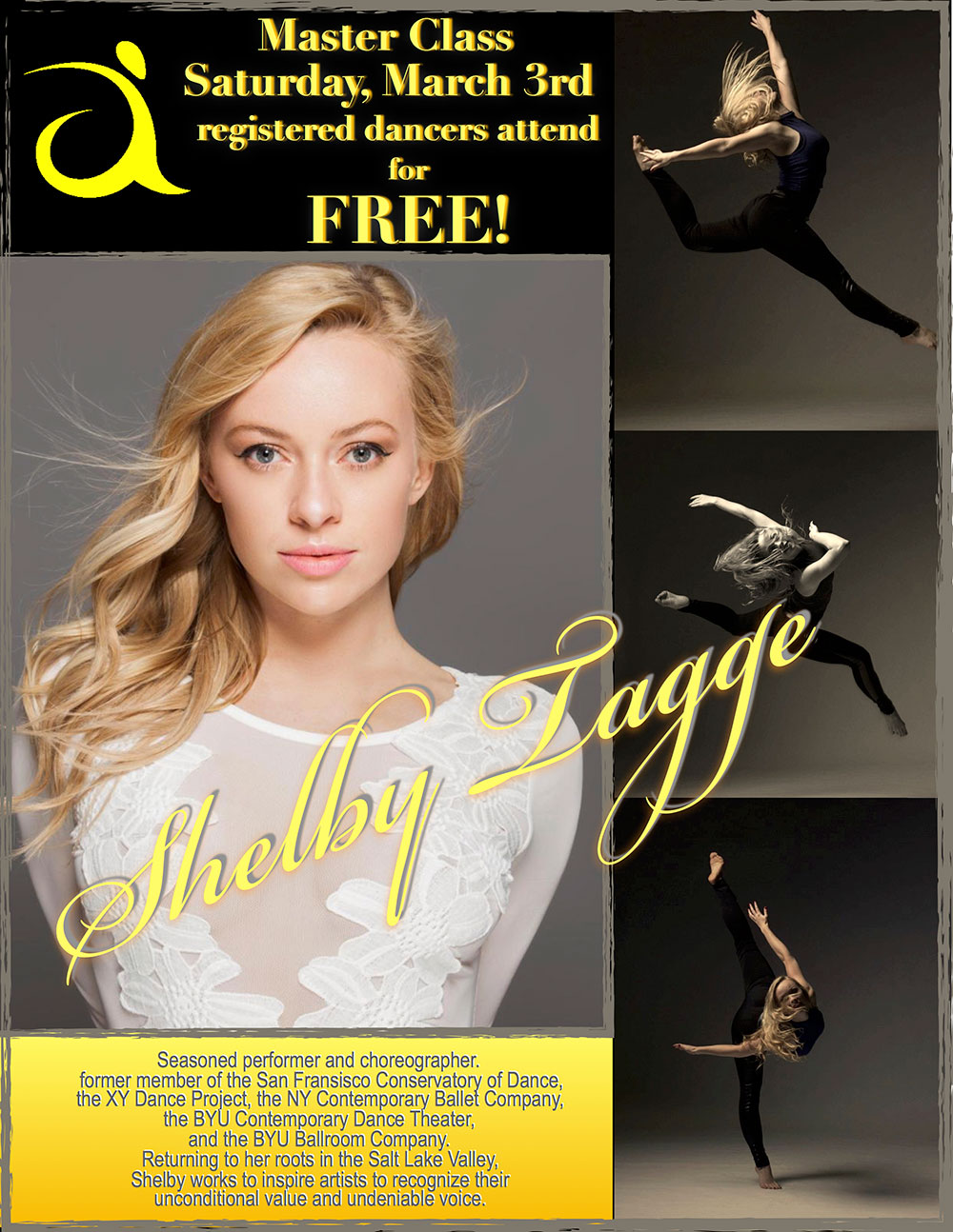 Shelby Tagge - Aspire Dance Pro Competitions Masterclass Instructor