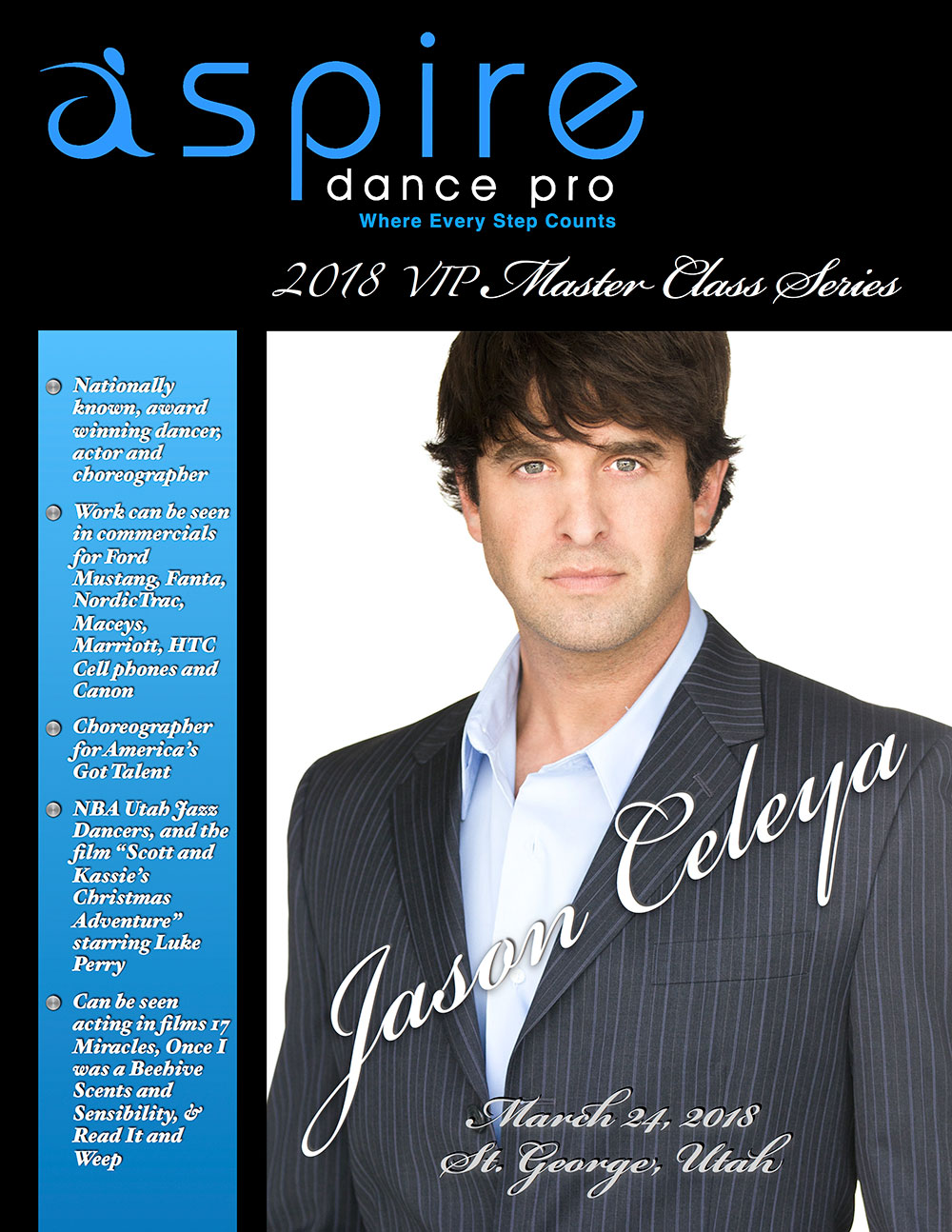 Jason Celaya - Aspire Dance Pro Commpetitions Masterclass Instructor