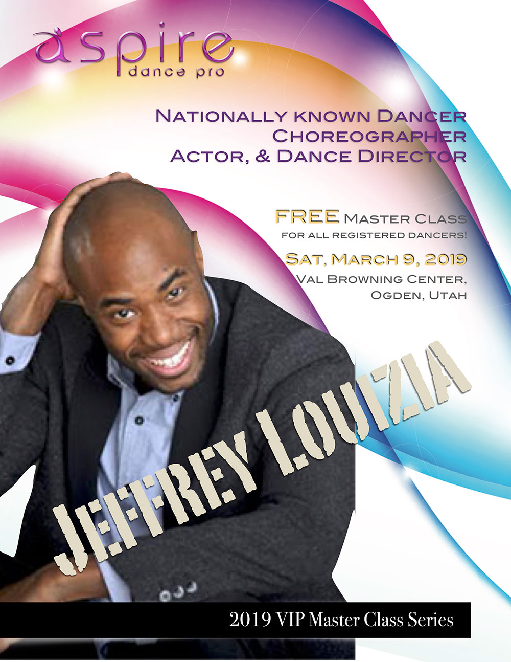 Jeffrey Louizia - Aspire Dance Pro Competitions Masterclass Instructor
