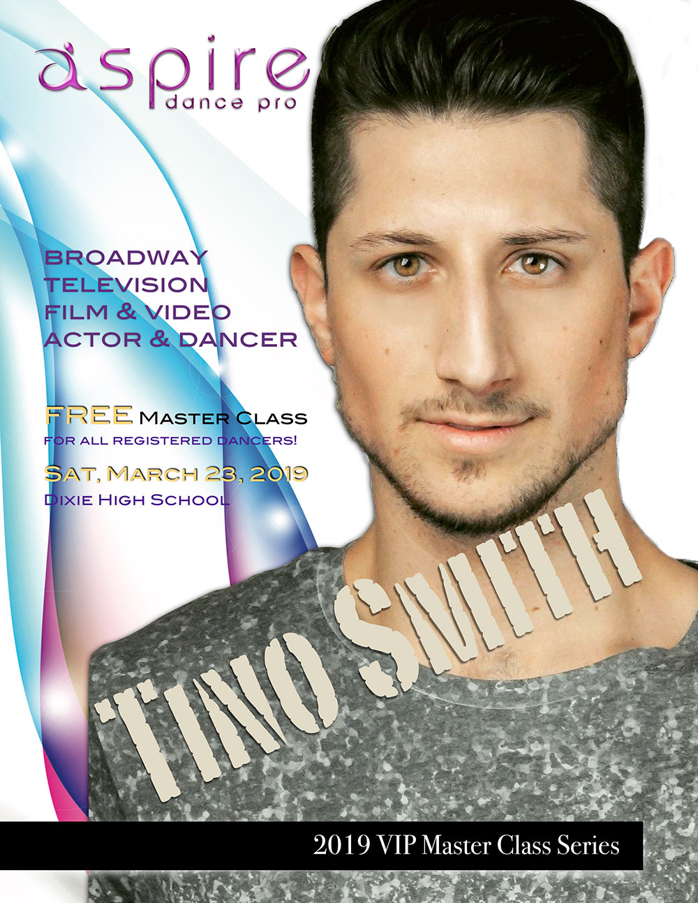 Tino Smith - Aspire Dance Pro Competitions Masterclass Instructor