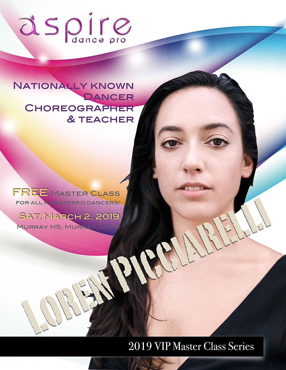 Loren Picciarelli - Aspire Dance Pro Competitions Masterclass Instructor