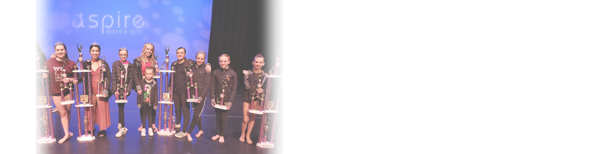 Personalized Awards at Aspire Dance Pro Competitions